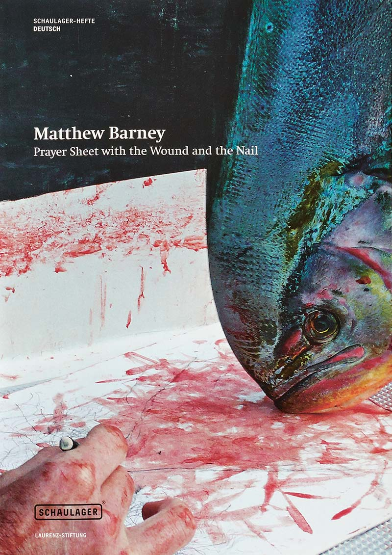 Matthew Barney, Prayer sheet with the wound and the nail