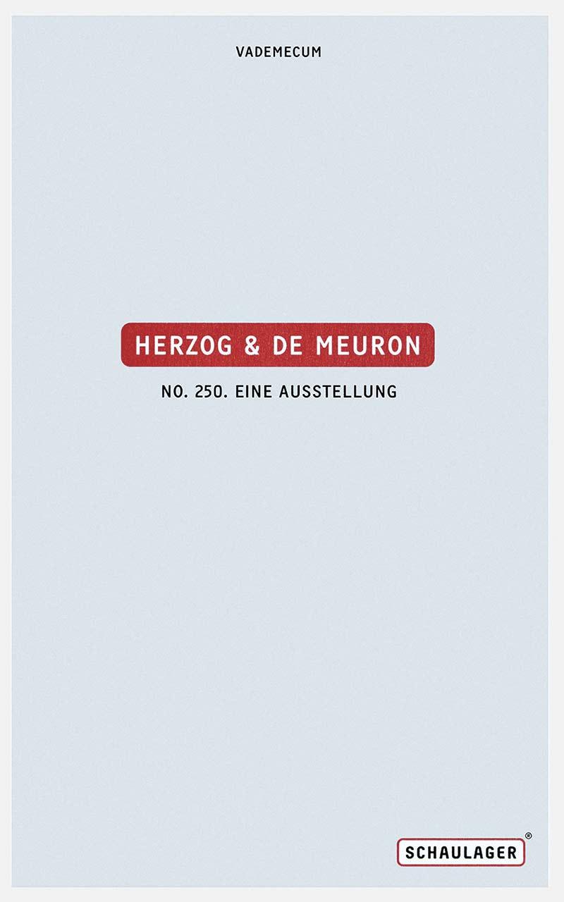 Herzog & De Meuron. No. 250, Eine Ausstellung