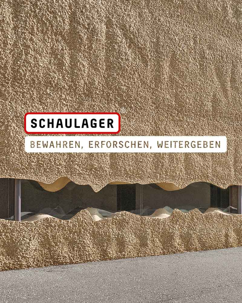 Schaulager, Preserve, Study, Share