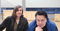 Katharina Fritsch und Alexej KoschkarowFoto: Peter Schnetz, Basel